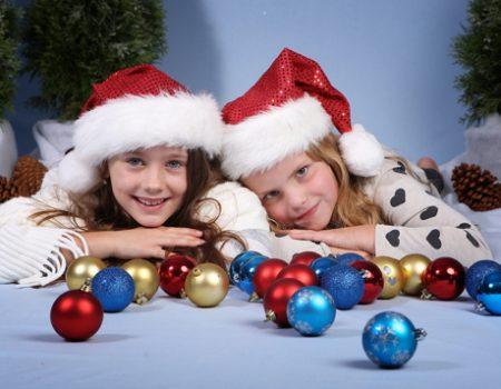 Fotoaktion in weihnachtlicher Kulisse